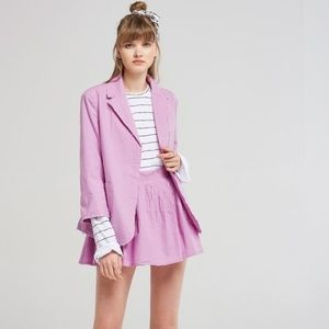 Storets Alison Purple Jacket & Skirt Set NWT